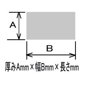 画像1: SSミガキ平角棒 19mm×150mm×300mm=1個 (1)